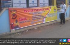 Ikutilah, Sayembara Tangkap Maling Berhadiah Rp 1 Juta - JPNN.com