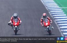 ATC 2018: Race 1 Pembalap Indonesia Puas di Podium 2 Lagi - JPNN.com
