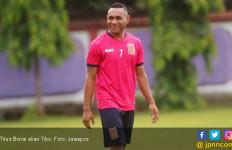 Bek Sriwijaya FC Pastikan Kawal Ketat Tibo - JPNN.com