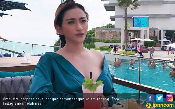 Kasihan, Amel Alvi Gagal Jadi Istri Pemilik Hotel - JPNN.com