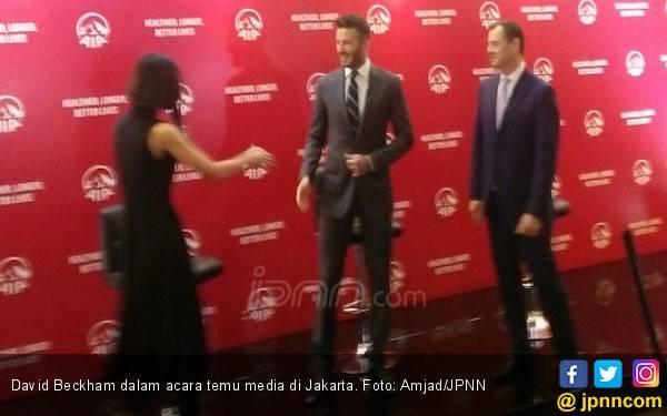 Ini Pesan David Beckham untuk Kemajuan Sepak Bola Indonesia - JPNN.com