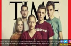 Lima Siswa SMA Pemberani Hiasi Kover Majalah Time - JPNN.com