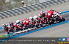 Pembalap Indonesia Konsisten Rebut Podium di Seri 2 ATC 2018 - JPNN.com