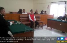 JPU Ajukan Tuntutan 2 Tahun Penjara untuk Jasriadi Saracen - JPNN.com