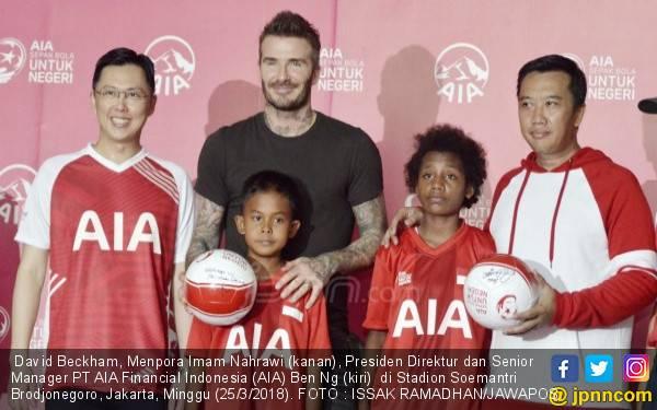 David Beckham Bicara soal Masa Depan Sepak Bola Indonesia - JPNN.com