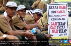 Gaji Pegawai Perhutani tak Naik sejak 2013, Aksi di Monas - JPNN.com