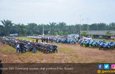 Guyubnya Suzuki GSX Community Rayakan Ultah Pertama - JPNN.com