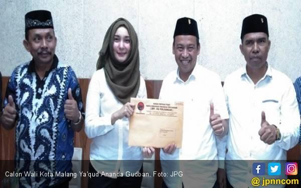 Calon Wali Kota Cantik Kampanye dari Tahanan KPK - JPNN.com