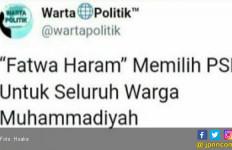 PP Muhammadiyah tak Keluarkan Fatwa Haram Pilih PSI - JPNN.com