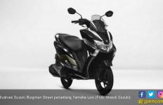 Harga Rp 15 Jutaan, Suzuki Burgman Street Colek Yamaha Lexi - JPNN.com