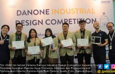 UGM - ITB Tim Terbaik Kompetisi Desain Industri Danone-Aqua - JPNN.com