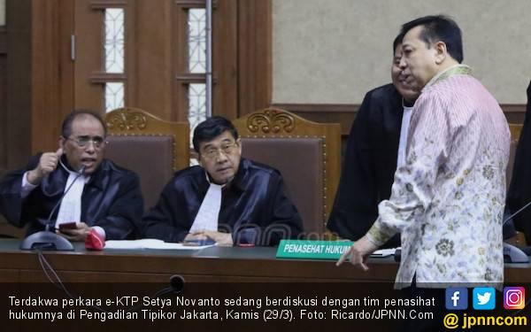 Terbukti Jadi Koruptor e-KTP, Novanto Mengaku Pikir-pikir - JPNN.com