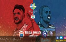Ini Starting Line-Up Persija vs Arema - JPNN.com