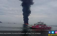 Kapal Tanker Terbakar Karena Ceceran Minyak, Pertamina: Hoax - JPNN.com