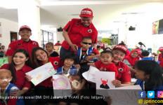 BMI DKI Jakarta Berbagi Kebahagiaan dengan Anak-anak YKAKI - JPNN.com
