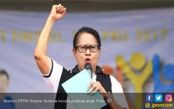 Menteri Yohana: Tindak Tegas Pelaku Prostitusi di Aceh - JPNN.com