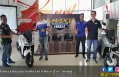 Mendarat di Medan, Yamaha Lexi: Horas! - JPNN.com