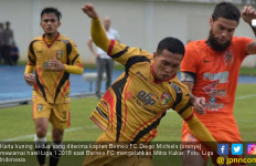 Hasil Liga 1 2018: Diego Michiels Diusir, Debut Dejan Yahud - JPNN.com