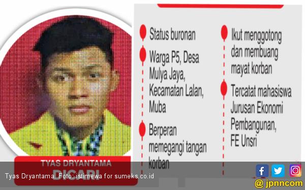 Kampus Unsri Pastikan Pecat Mahasiswa Pembunuh Sopir Go-Car - JPNN.com