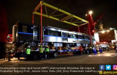 Gerbong MRT Tiba di Jakarta - JPNN.com