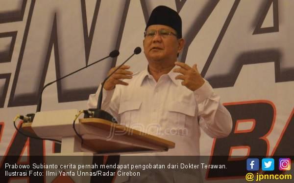 Cerita Prabowo Sanggup Pidato 5 Jam Berkat Dokter Terawan - JPNN.com