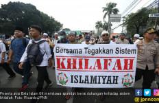 Ada Spanduk Dukung Khilafah di Aksi Bela Islam 64 - JPNN.com