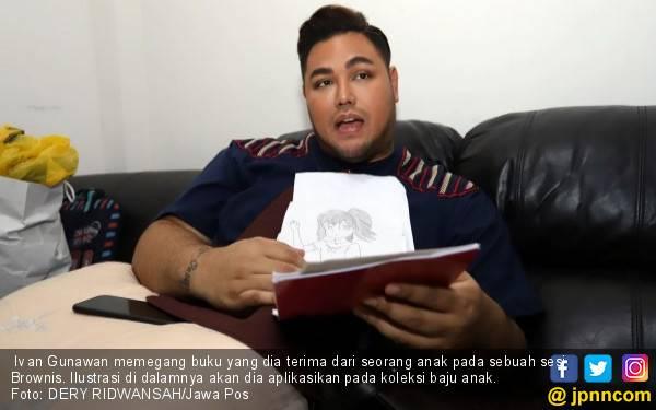 Wow, Ivan Gunawan Jual Gaun Doraemon Senilai Rp 250 Juta - JPNN.com