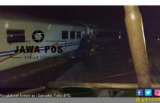 Asisten Masinis Kereta Api Sancaka Selamat dari Kecelakaan - JPNN.com