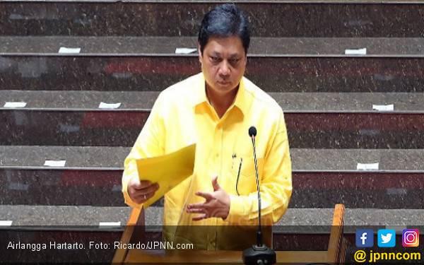 Airlangga: Cuma Anggota yang Boleh Masuk Kantor DPP Golkar - JPNN.com