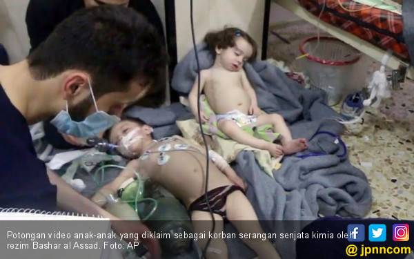 Tutupi Serangan Keji, Rezim Syria Intimidasi Tim Medis - JPNN.com
