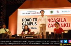 Reza Rahadian Tebar Cinta Pancasila Hingga ke Mataram - JPNN.com