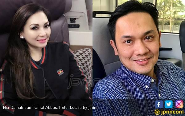 Farhat Abbas dan Nia Daniati Serumah Lagi? - JPNN.com