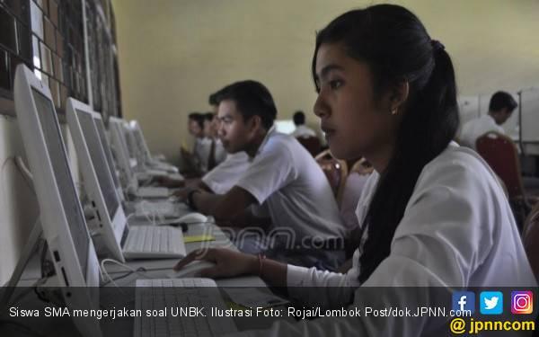 Nilai Unas SMA – SMK Turun tapi Asli - JPNN.com