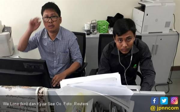Jurnalis Pengungkap Genosida Rohingya Gagal Bebas - JPNN.com