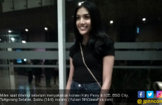 Nonton Konser Katy Perry, Millen Cyrus Pakai Rok dan Wedges - JPNN.com