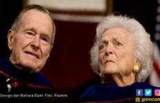 George Bush Dimakamkan di Samping Istri - JPNN.com