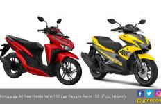 Komparasi All New Honda Vario 150 dan Yamaha Aerox 155 - JPNN.com