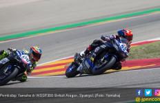 Keok di WSSP300 Spanyol, Yamaha Kambing Hitamkan Regulasi - JPNN.com