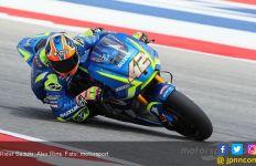 Hasil MotoGP Aragon: Alex Rins Rebut Kemenangan, Vinales Gigit Jari - JPNN.com
