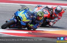 Andrea Iannone Pimpin 10 Rider ke Q2 MotoGP Amerika - JPNN.com