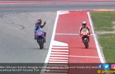 Pole tapi Kena Penalti, Marquez Start ke-4 di MotoGP Amerika - JPNN.com