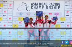 Hebat! 3 Pembalap Indonesia Sapu Bersih Podium ARRC 2018 - JPNN.com
