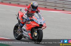 Andrea Dovizioso Pimpin Klasemen MotoGP 2018 - JPNN.com