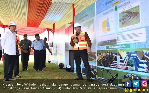 Jokowi Resmikan Pengembangan Bandara Soedirman Purbalingga - JPNN.com