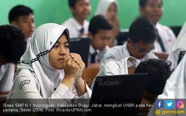 Nilai Unas SMP Turun Tajam, Ini Penyebabnya - JPNN.com
