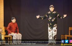 Ikut Main Ketoprak di Rembang, Ganjar Jadi Pangeran - JPNN.com