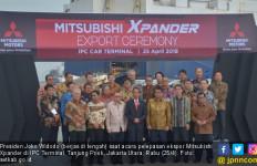 Lepas Ekspor Produk Mitsubishi, Pak Jokowi Singgung Isu TKA - JPNN.com