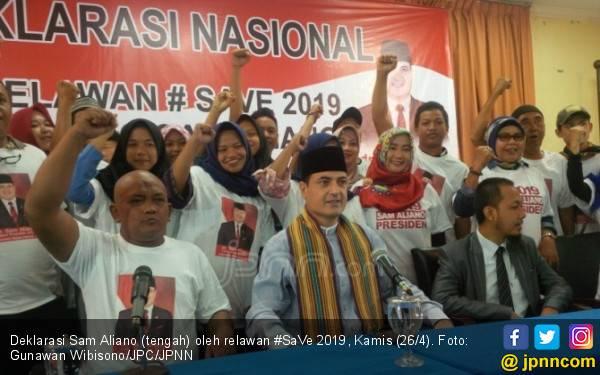 Tantang Jokowi, Sam Aliano Gandeng Mantan Istri Ahok - JPNN.com