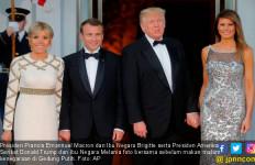 Gala Dinner ala Nyonya Trump: Daging Domba dan Sakura - JPNN.com