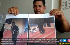 Pria Berpakaian Serbahitam Gegerkan Jemaah Salat Subuh - JPNN.com